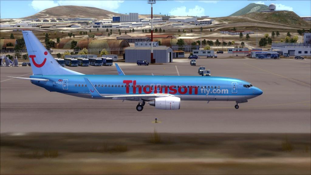 Thomsonfly B738-> Cardiff - Heraklion EGFF-LGIR20
