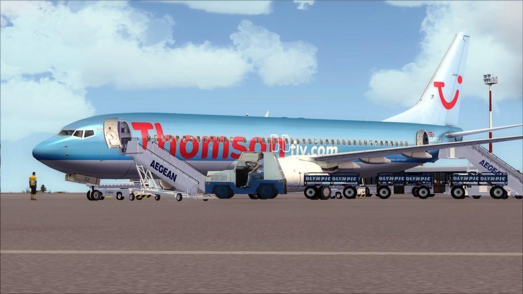 Thomsonfly B738-> Cardiff - Heraklion EGFF-LGIR21