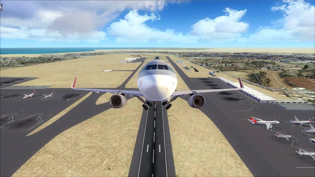 Qatar Airways A320-> Doha-Dubai OTBD-OMDB11