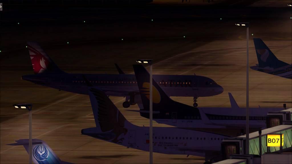 Qatar Airways A320-> Doha-Dubai OTBD-OMDB110