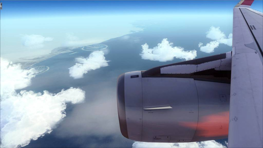 Qatar Airways A320-> Doha-Dubai OTBD-OMDB20