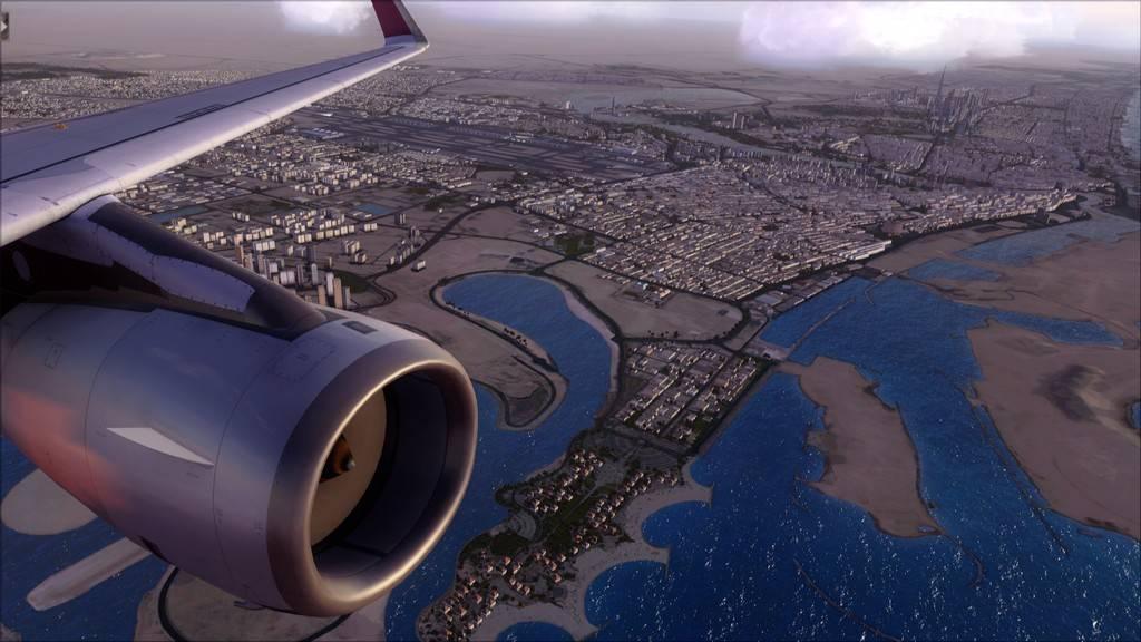 Qatar Airways A320-> Doha-Dubai OTBD-OMDB41
