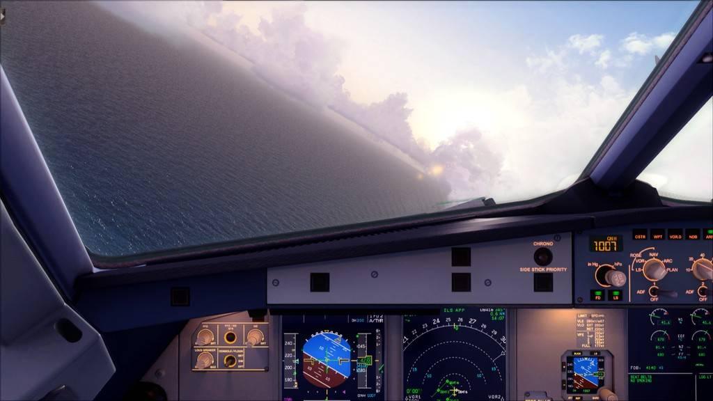 Qatar Airways A320-> Doha-Dubai OTBD-OMDB45