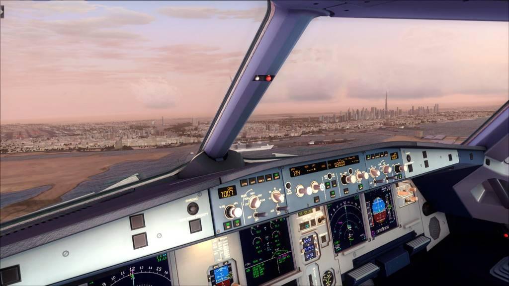 Qatar Airways A320-> Doha-Dubai OTBD-OMDB54