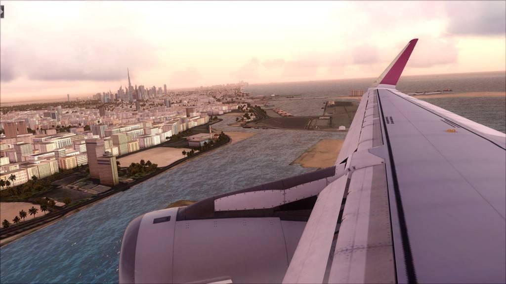 Qatar Airways A320-> Doha-Dubai OTBD-OMDB61