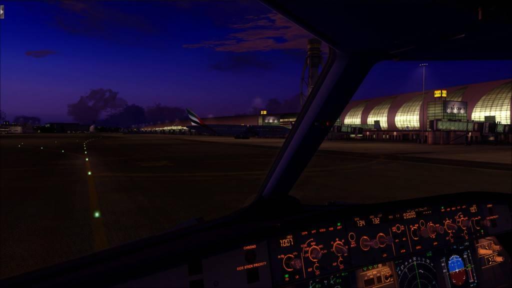 Qatar Airways A320-> Doha-Dubai OTBD-OMDB99