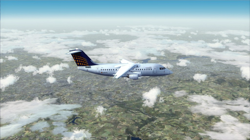 Euro Wings RJ85->EDDL-LOWI EDDL-LOWI10