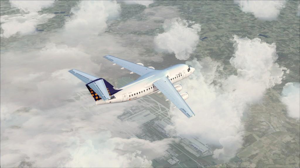 Euro Wings RJ85->EDDL-LOWI EDDL-LOWI12