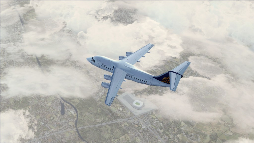 Euro Wings RJ85->EDDL-LOWI EDDL-LOWI13