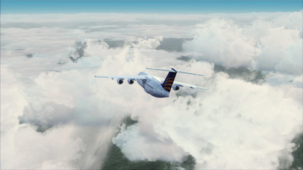 Euro Wings RJ85->EDDL-LOWI EDDL-LOWI14
