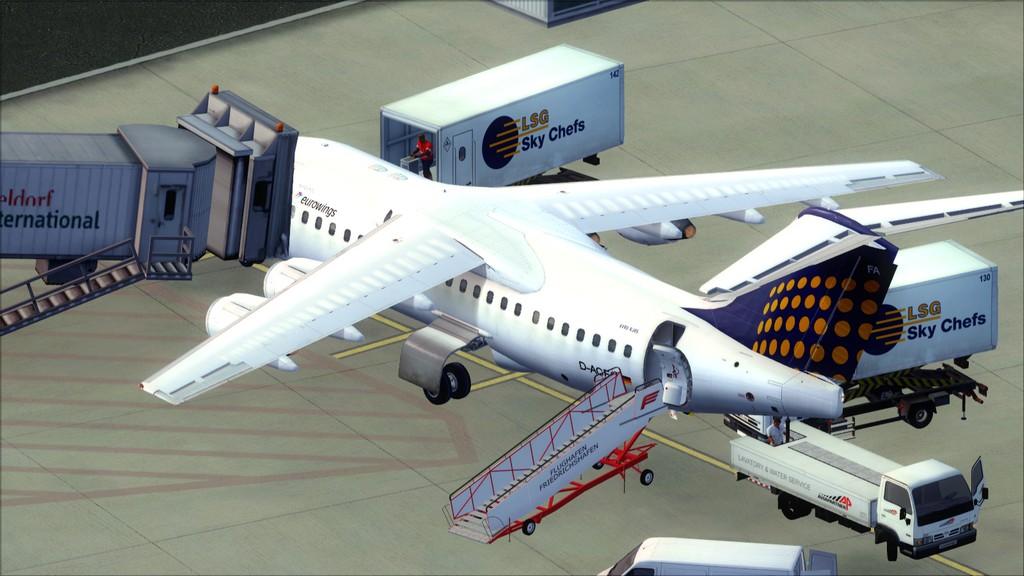 Euro Wings RJ85->EDDL-LOWI EDDL-LOWI2