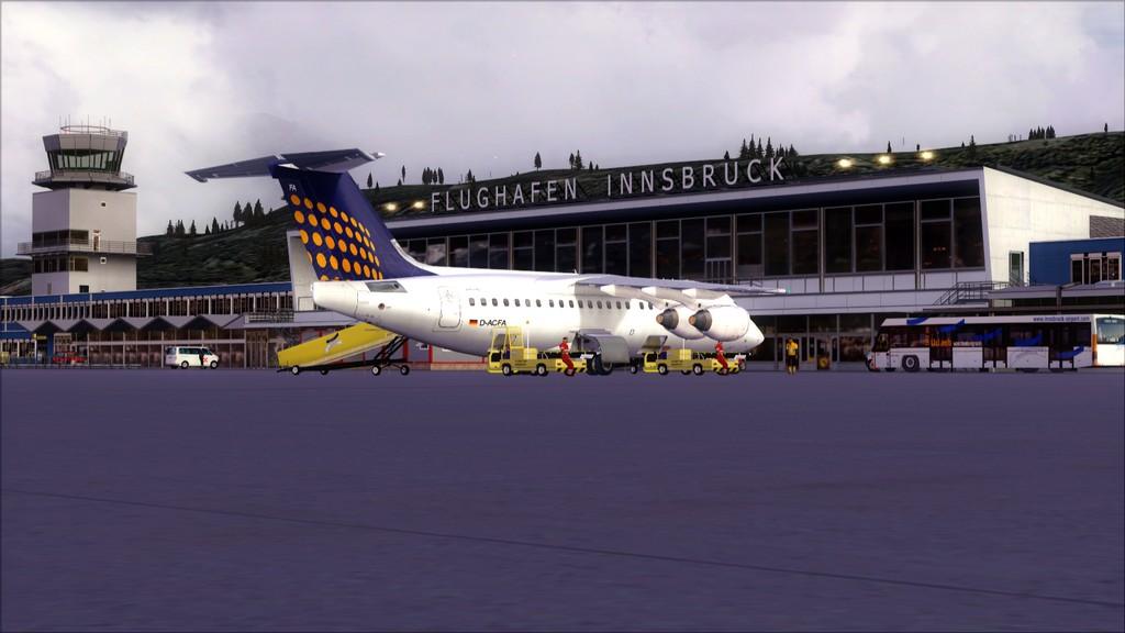 Euro Wings RJ85->EDDL-LOWI EDDL-LOWI21