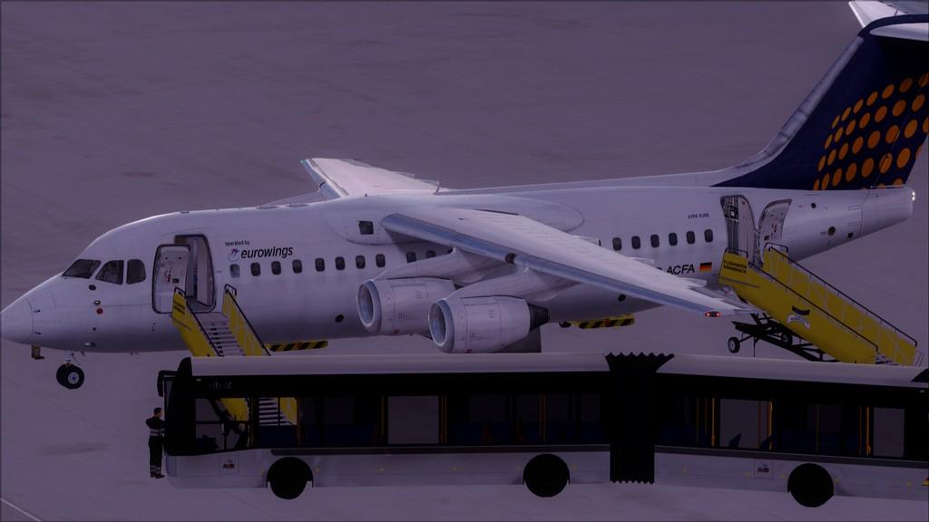 Euro Wings RJ85->EDDL-LOWI EDDL-LOWI22