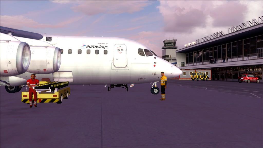 Euro Wings RJ85->EDDL-LOWI EDDL-LOWI23