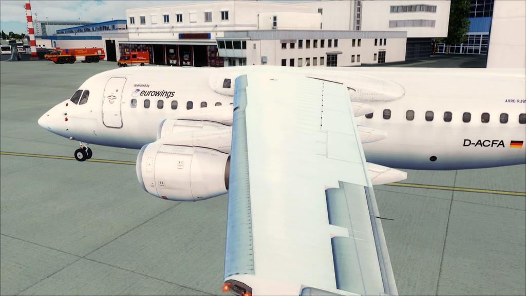 Euro Wings RJ85->EDDL-LOWI EDDL-LOWI5