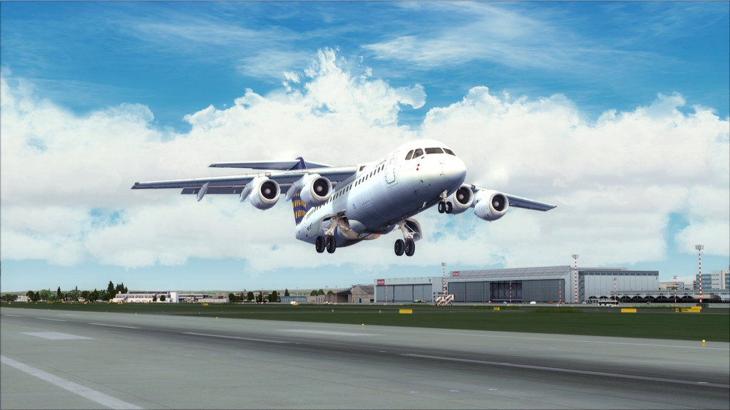 Euro Wings RJ85->EDDL-LOWI EDDL-LOWI8