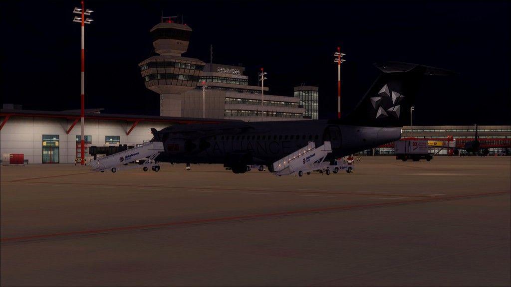 Swiss RJ100 -> Berlin - Zurich (noturno) EDDT-LSZH