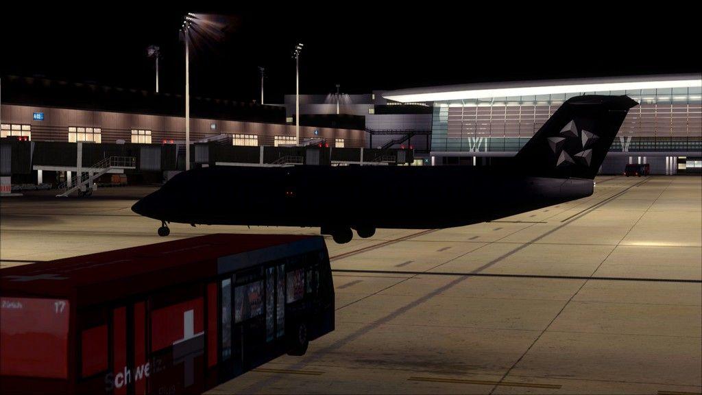 Swiss RJ100 -> Berlin - Zurich (noturno) EDDT-LSZH21