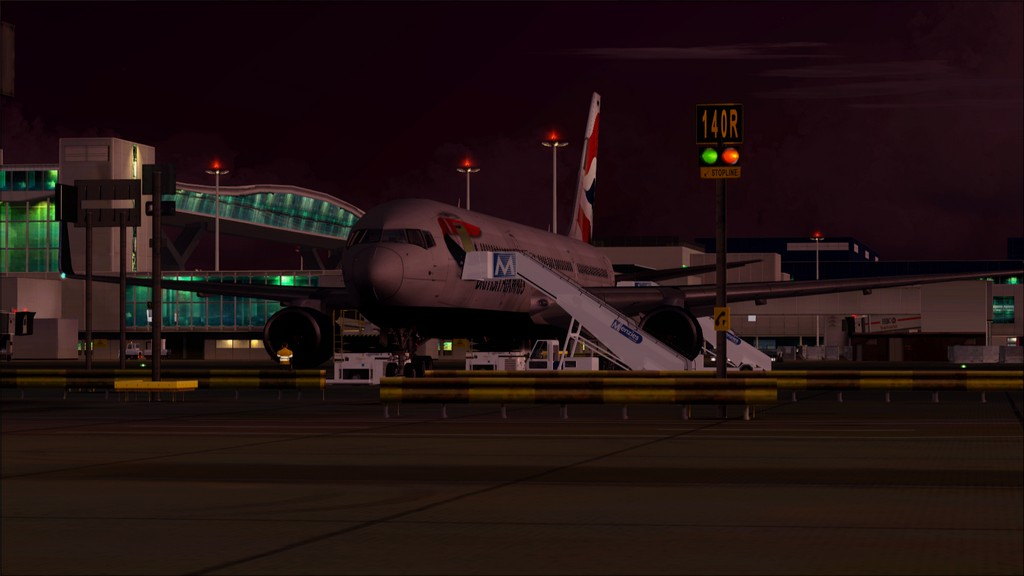 British 767-> London Gatwick - Montego Bay  EGKK-MKJS1