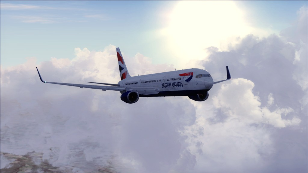 British 767-> London Gatwick - Montego Bay  EGKK-MKJS12