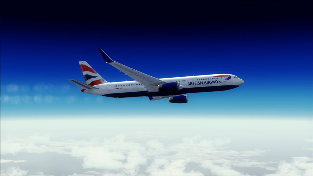 British 767-> London Gatwick - Montego Bay  EGKK-MKJS17