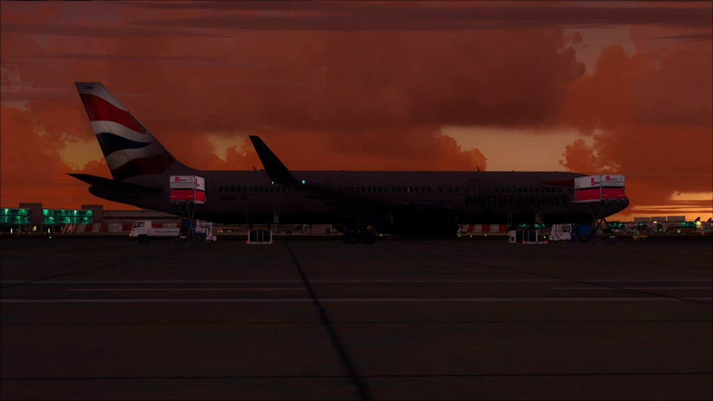 British 767-> London Gatwick - Montego Bay  EGKK-MKJS2