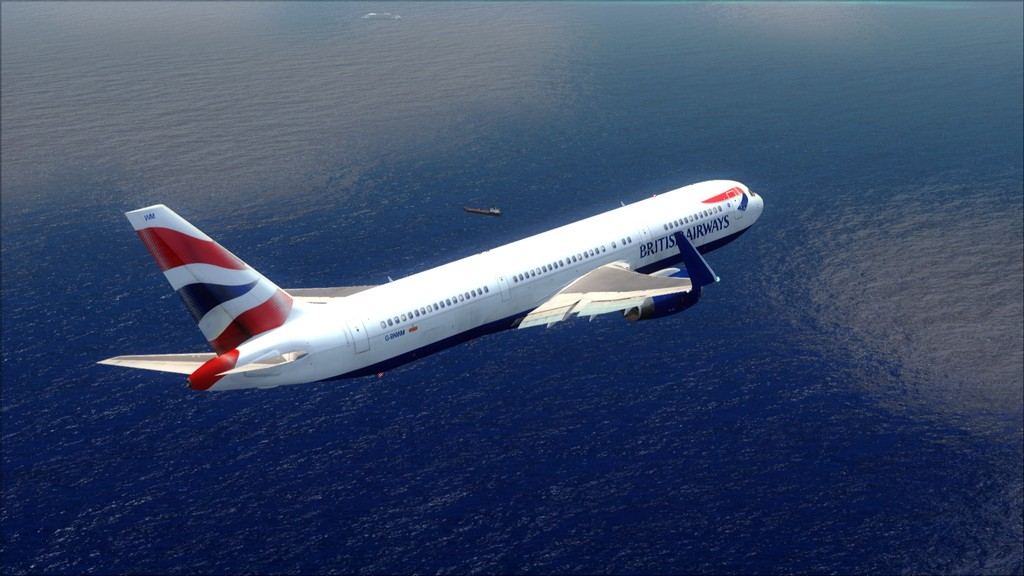 British 767-> London Gatwick - Montego Bay  EGKK-MKJS28