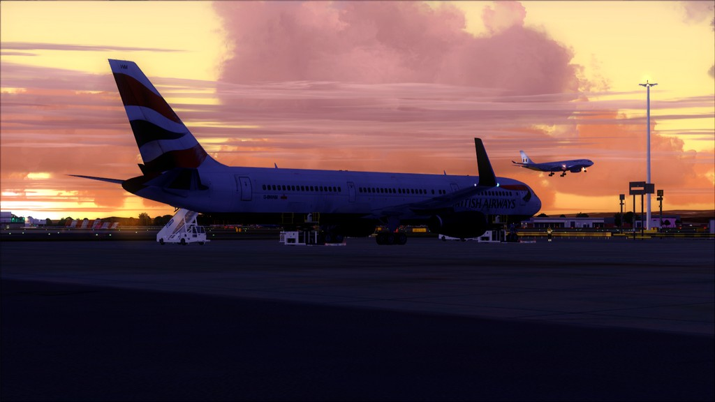 British 767-> London Gatwick - Montego Bay  EGKK-MKJS3
