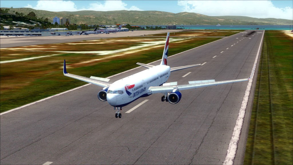 British 767-> London Gatwick - Montego Bay  EGKK-MKJS39