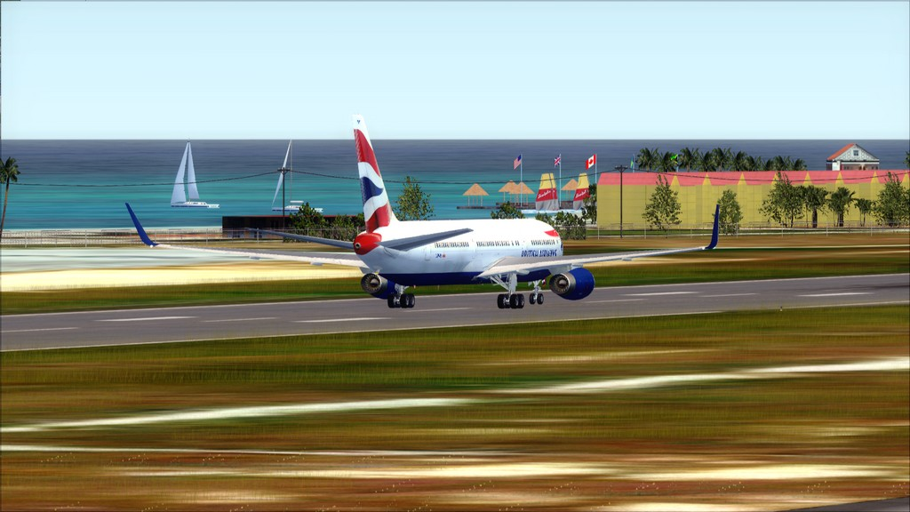 British 767-> London Gatwick - Montego Bay  EGKK-MKJS40
