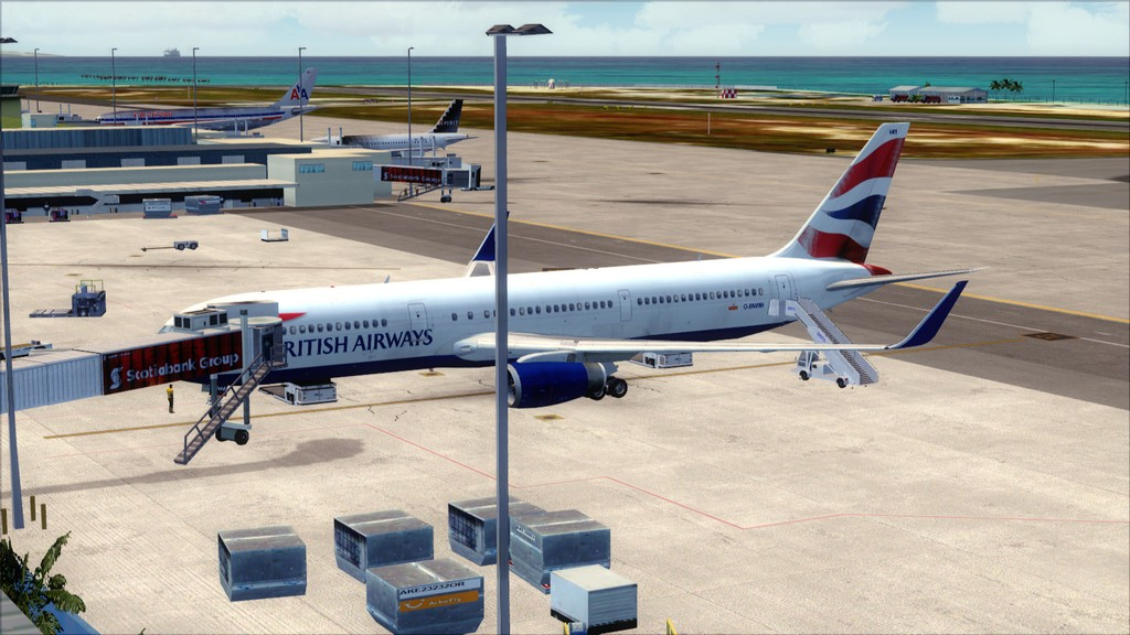 British 767-> London Gatwick - Montego Bay  EGKK-MKJS44
