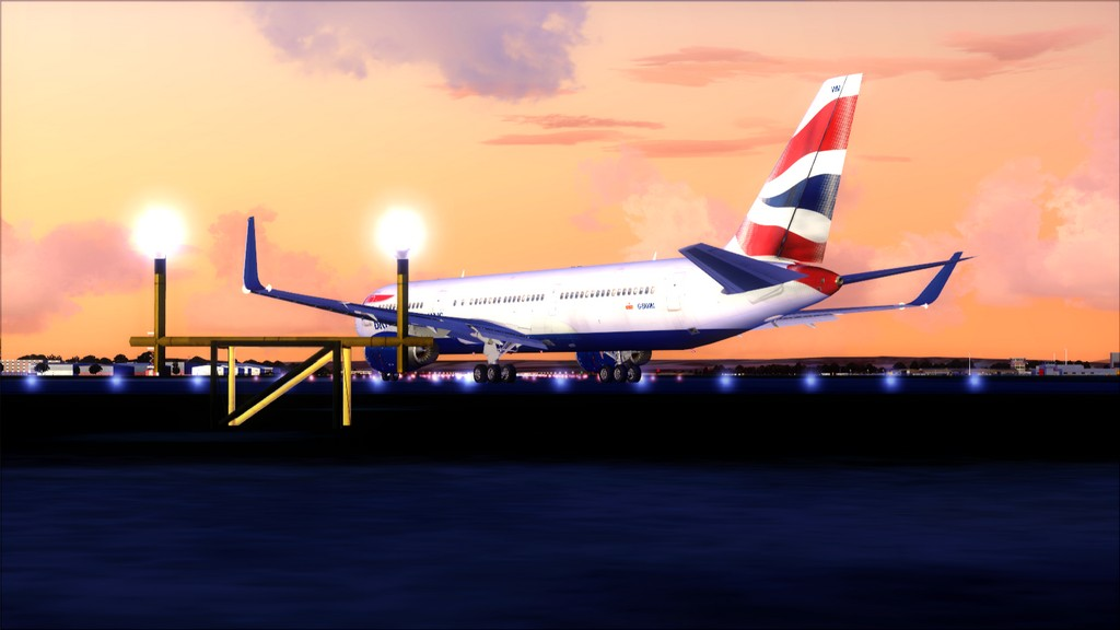 British 767-> London Gatwick - Montego Bay  EGKK-MKJS6
