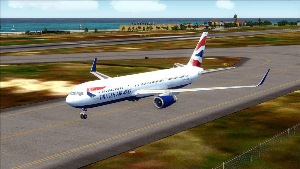 British 767-> London Gatwick - Montego Bay  EGKK-MKJS66