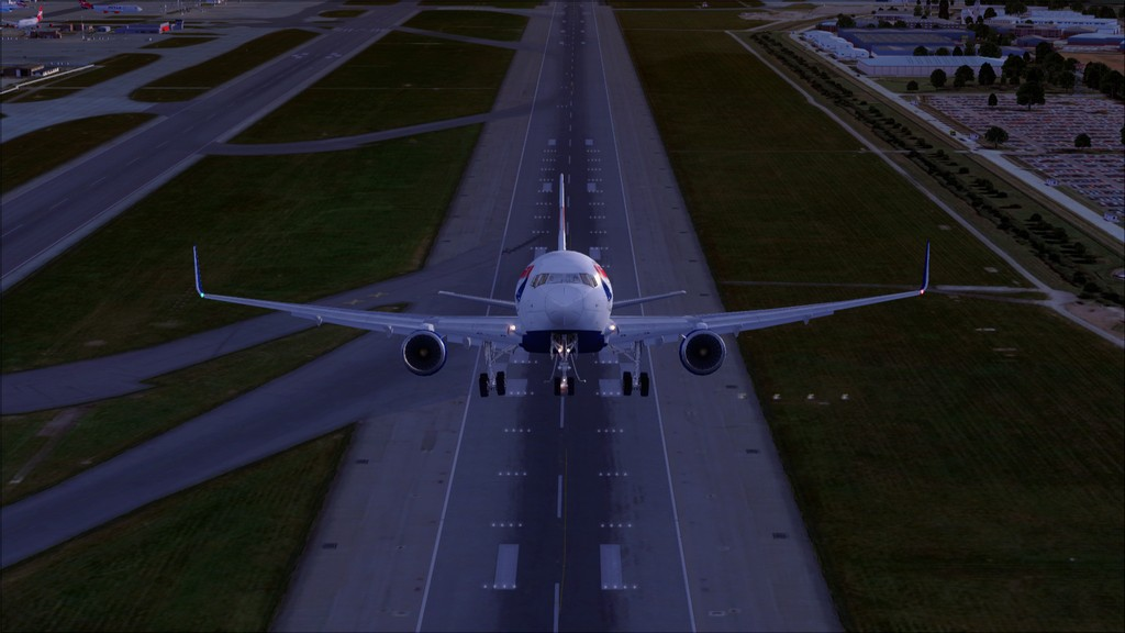 British 767-> London Gatwick - Montego Bay  EGKK-MKJS8
