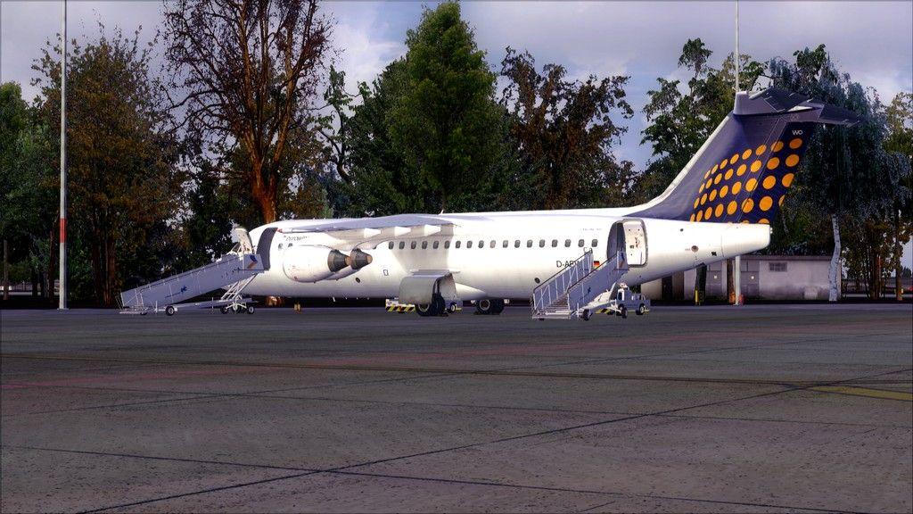 Eurowings Avro RJ85-> Krakow - Berlin EPKK-EDDT