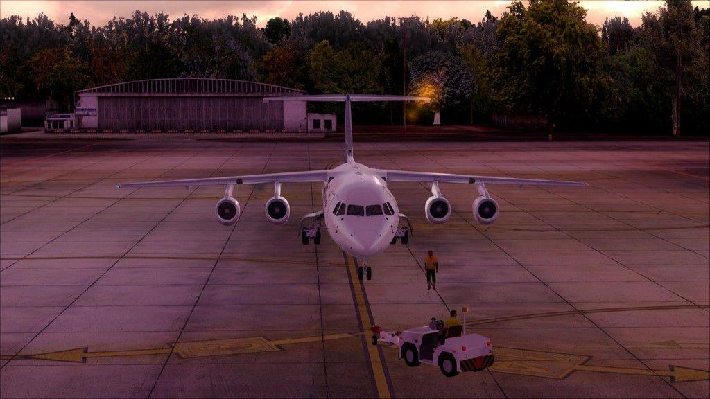 Eurowings Avro RJ85-> Krakow - Berlin EPKK-EDDT1