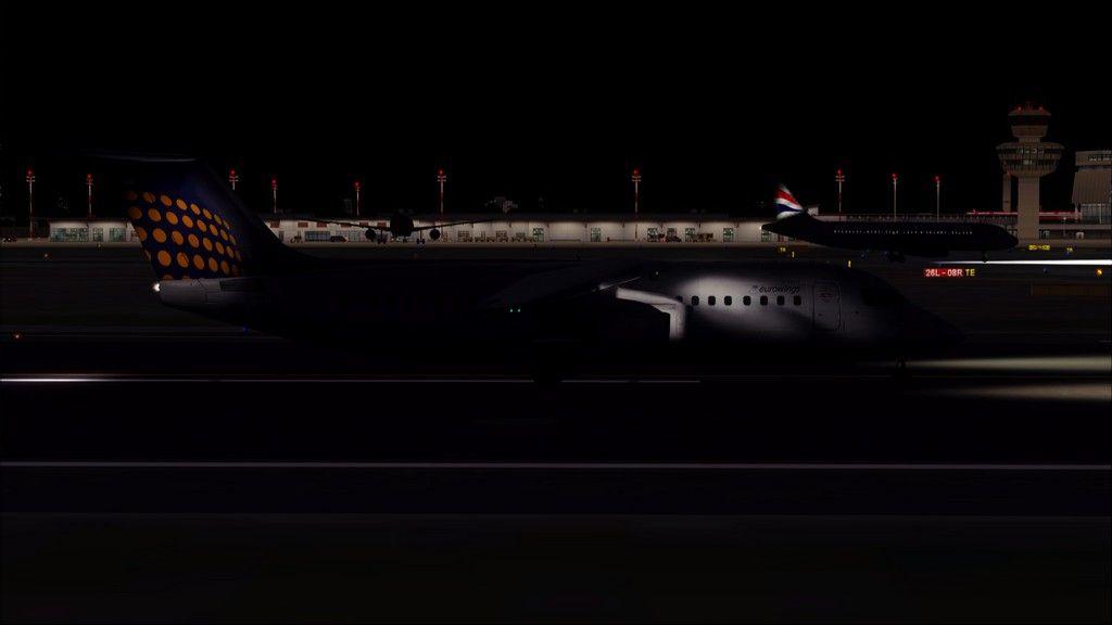 Eurowings Avro RJ85-> Krakow - Berlin EPKK-EDDT23