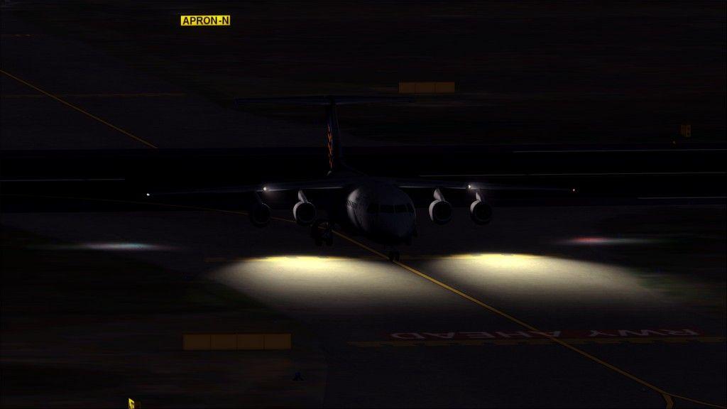 Eurowings Avro RJ85-> Krakow - Berlin EPKK-EDDT26