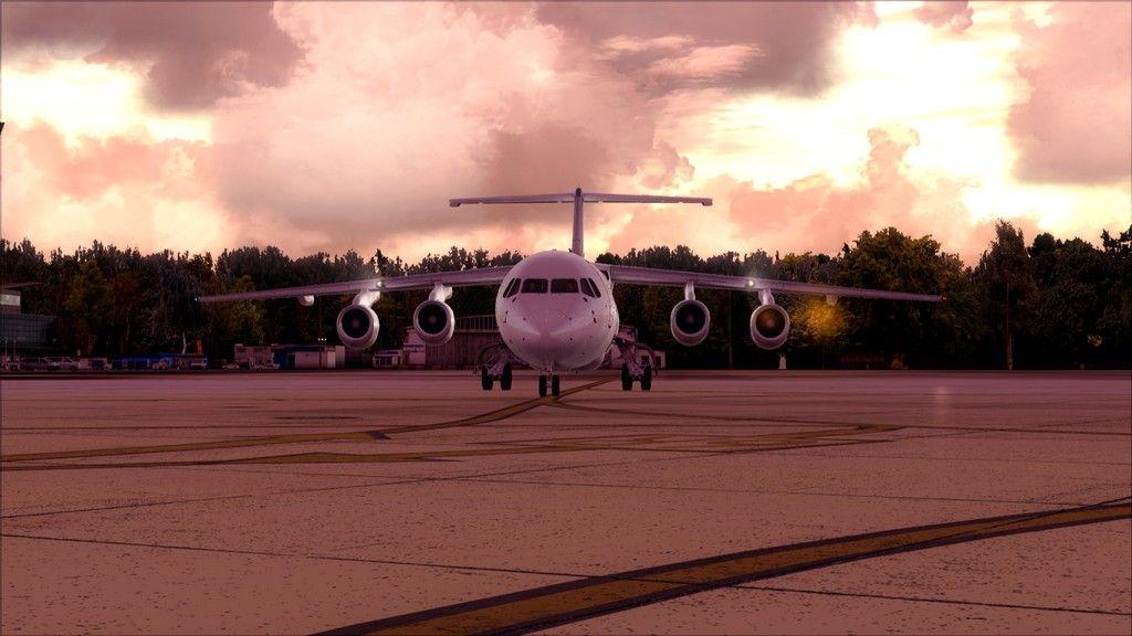 Eurowings Avro RJ85-> Krakow - Berlin EPKK-EDDT3