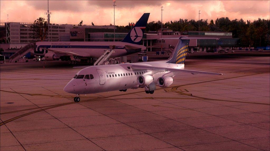 Eurowings Avro RJ85-> Krakow - Berlin EPKK-EDDT4