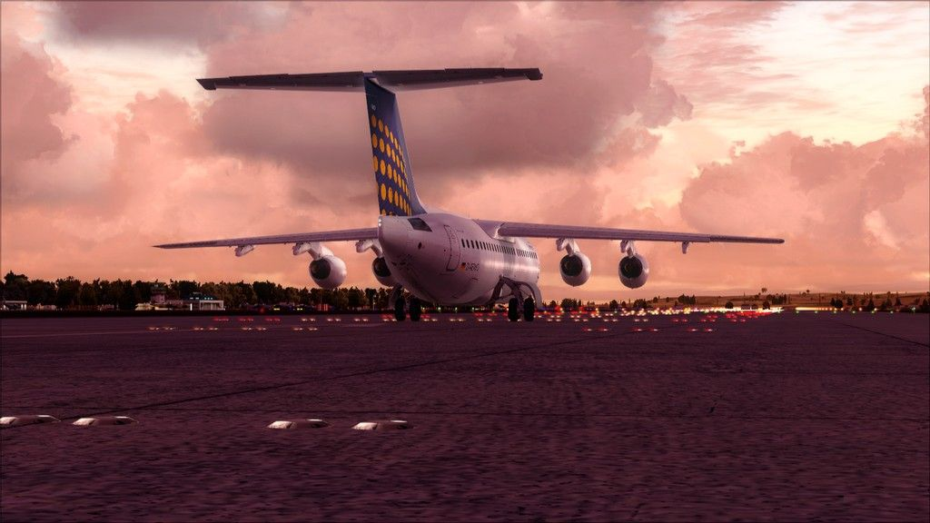 Eurowings Avro RJ85-> Krakow - Berlin EPKK-EDDT9