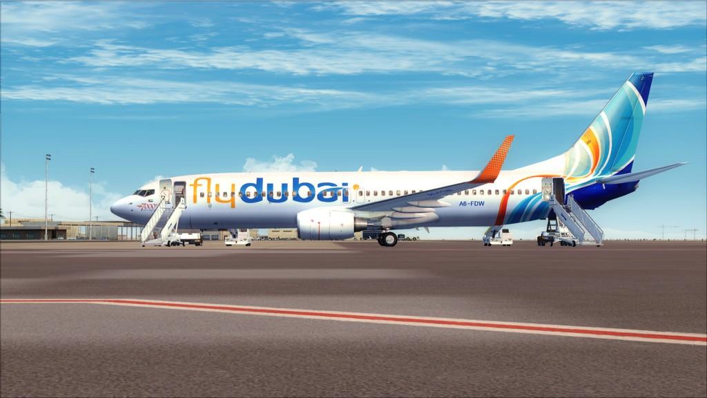 Fly Dubai -> HESH - OMDB HESH-OMDB