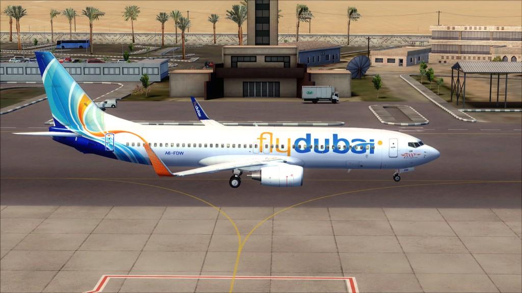 Fly Dubai -> HESH - OMDB HESH-OMDB1