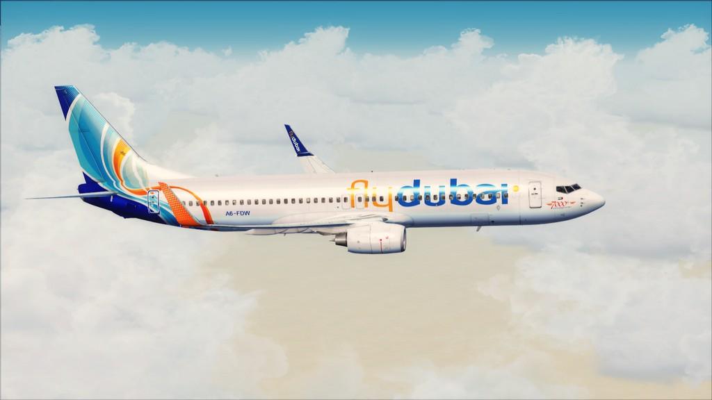 Fly Dubai -> HESH - OMDB HESH-OMDB10