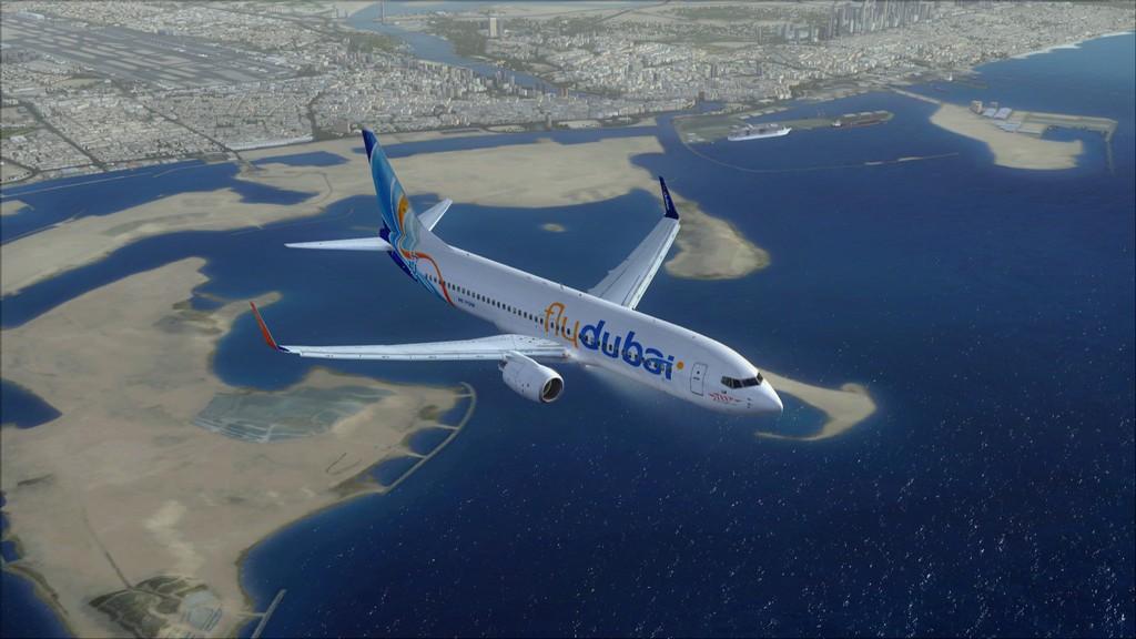 Fly Dubai -> HESH - OMDB HESH-OMDB12
