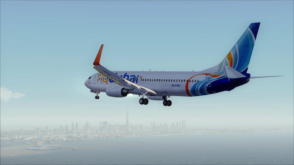 Fly Dubai -> HESH - OMDB HESH-OMDB14