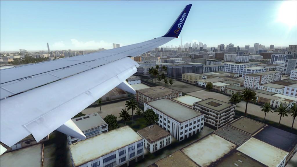 Fly Dubai -> HESH - OMDB HESH-OMDB21