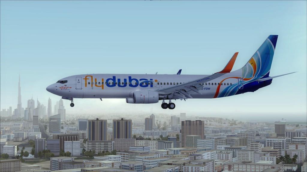 Fly Dubai -> HESH - OMDB HESH-OMDB23