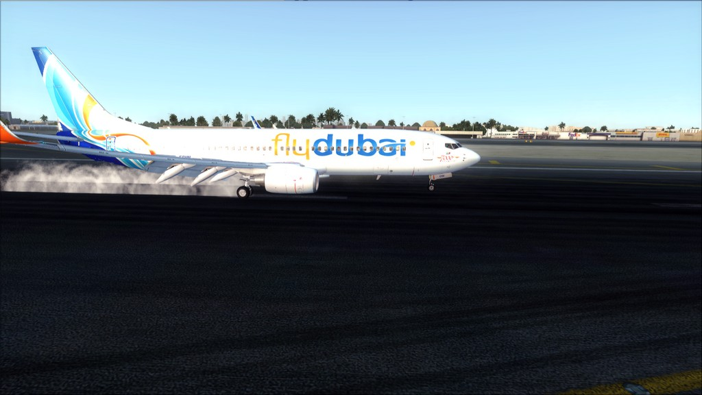 Fly Dubai -> HESH - OMDB HESH-OMDB27