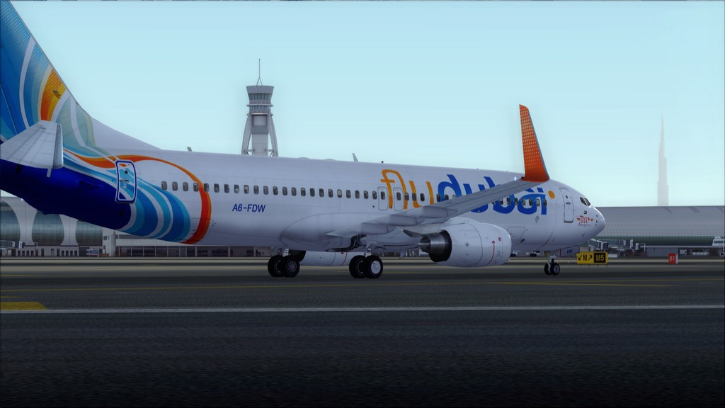 Fly Dubai -> HESH - OMDB HESH-OMDB28